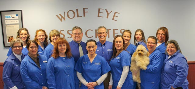 The Wolf Eye Staff Welcomes You