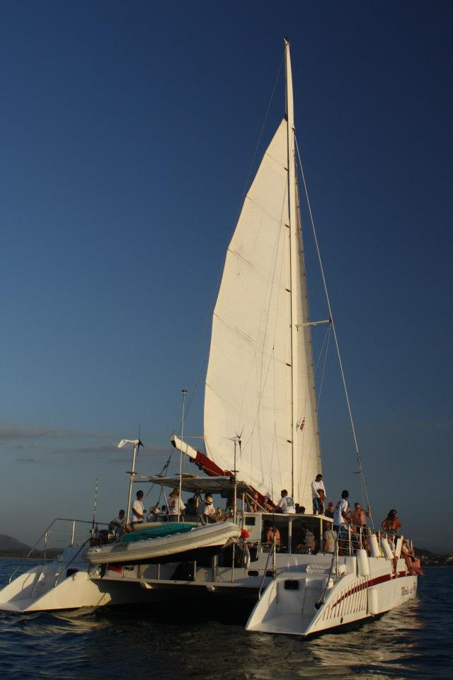 Sunset Sailing on Catamaran