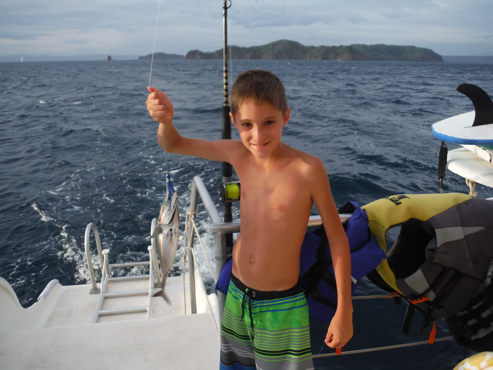 Fishing in playas del coco