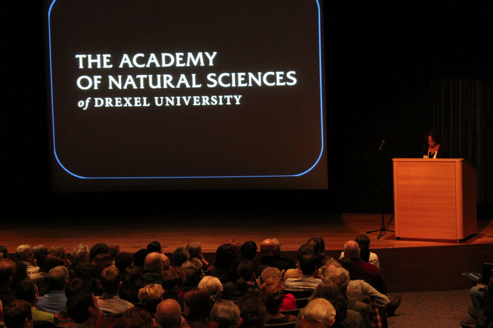 Book Launch at the Academy of Natural Sciences on March 14, 2013