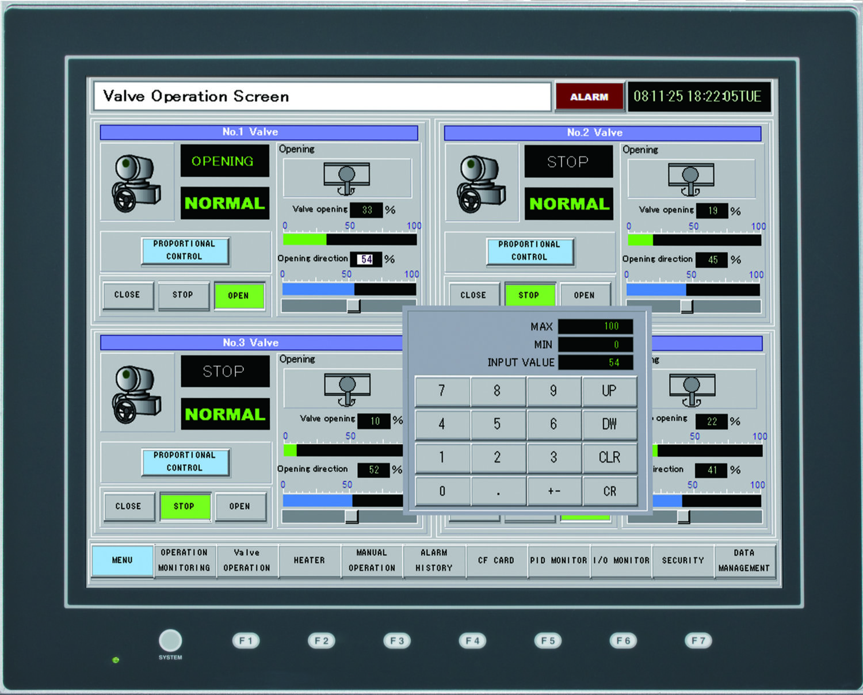 hmi industrial control