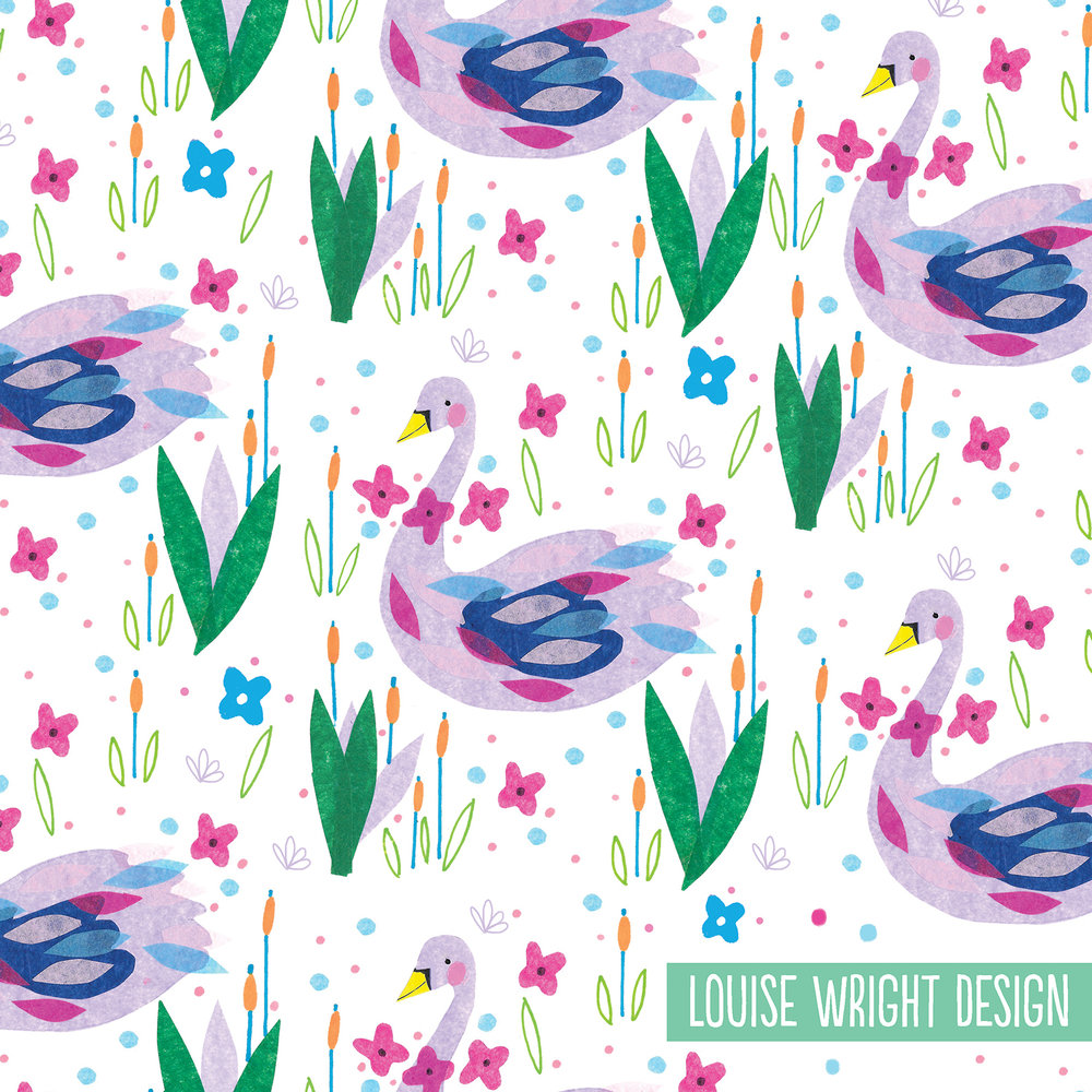 swan collage pattern louise wright.jpg