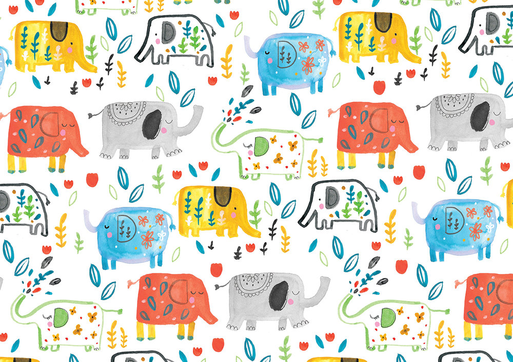 Inky elephant Pattern Louise Wright.jpg