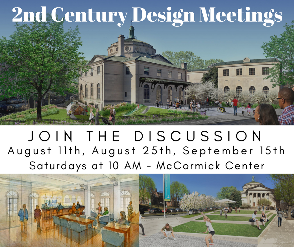 2nd Century Design Meetings