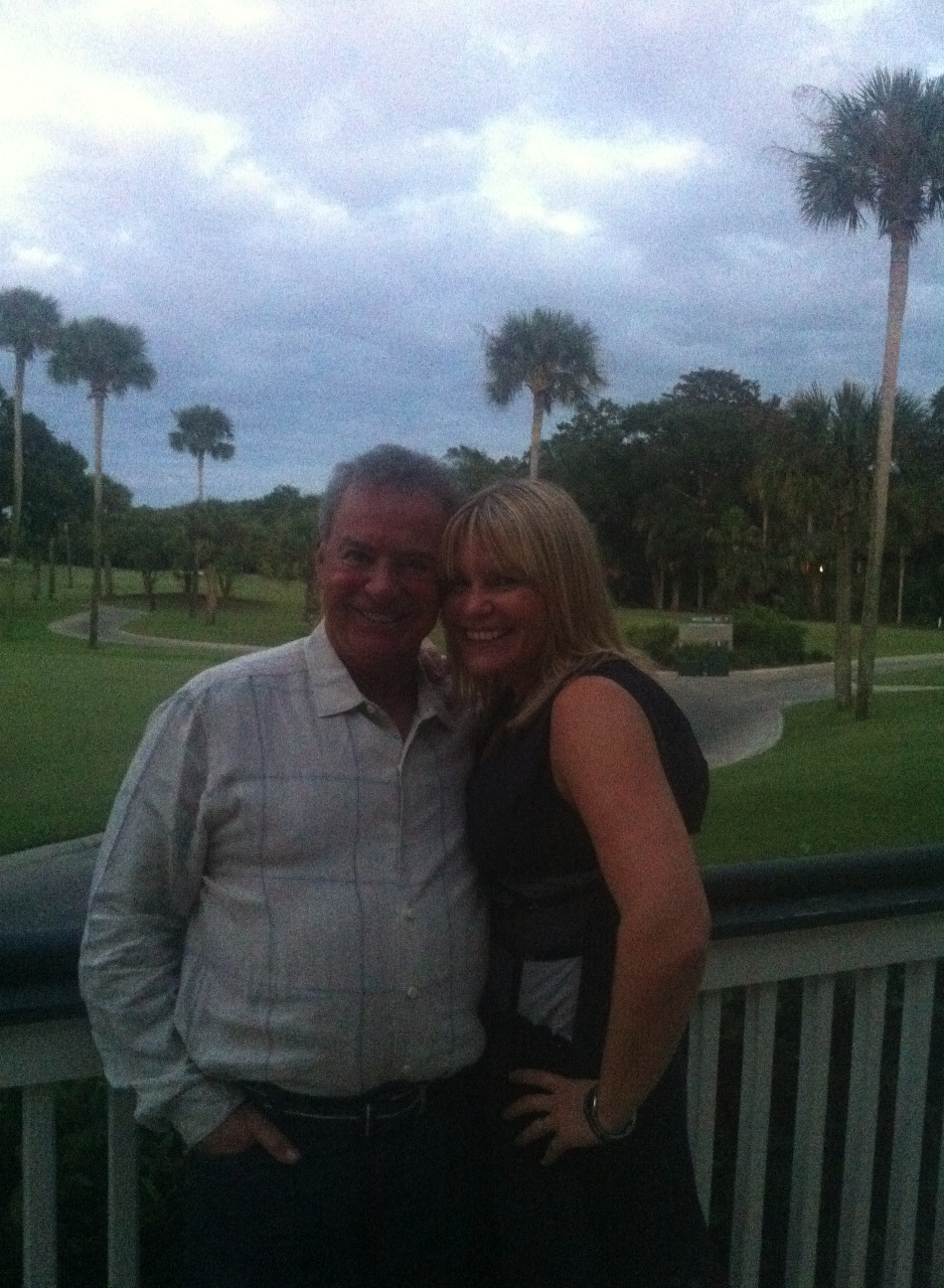 Val Wright, Leadership and Innovation Expert with Alan Weiss, the official Rockstar of Consulting, at the Million Dollar Consulting Mentor Summit, Kiawah Island, SC.