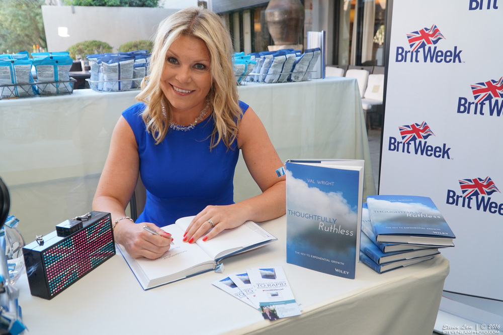 Val Wright Book Signing