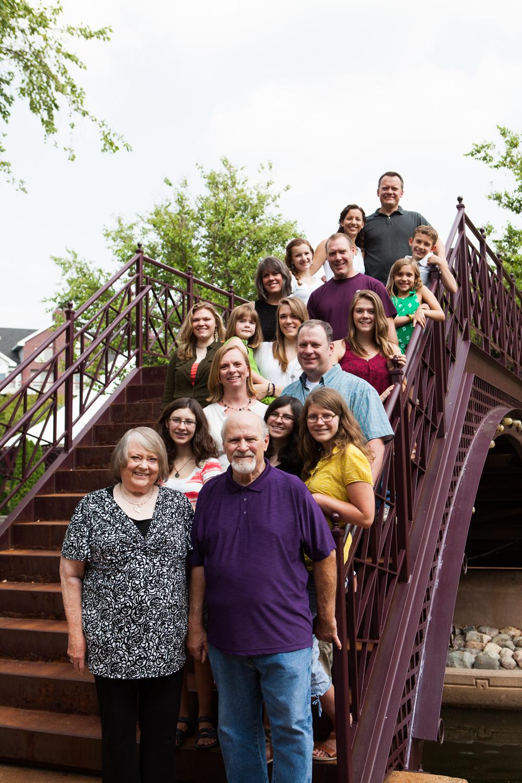 Ford Family Portrait Session | Centennial Lakes Park | Edina, MN