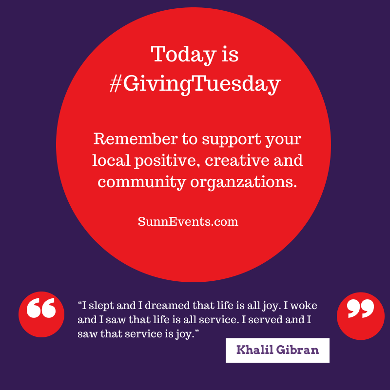 #GivingTuesday  2013