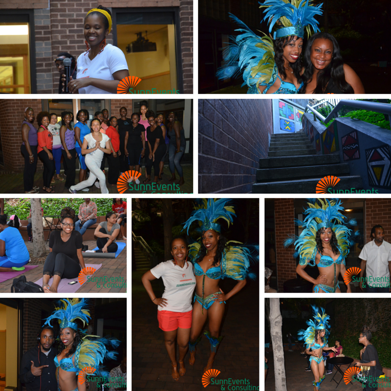 Caribbean Flow Friday 2015 guests & team
