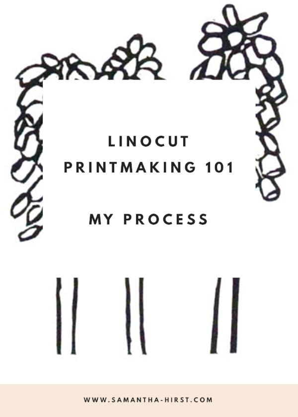linocut printmaking 101 process