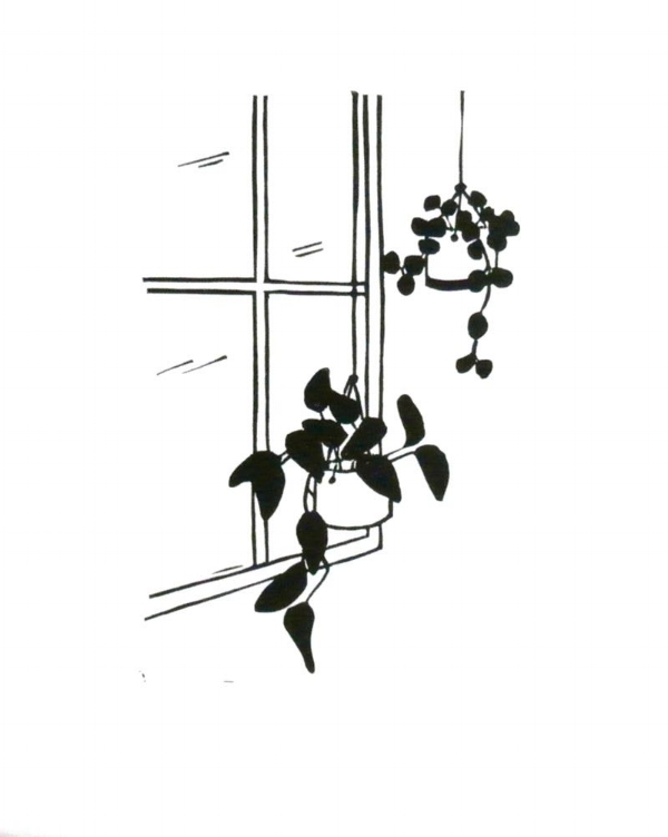 Window No. 1 Linocut Print