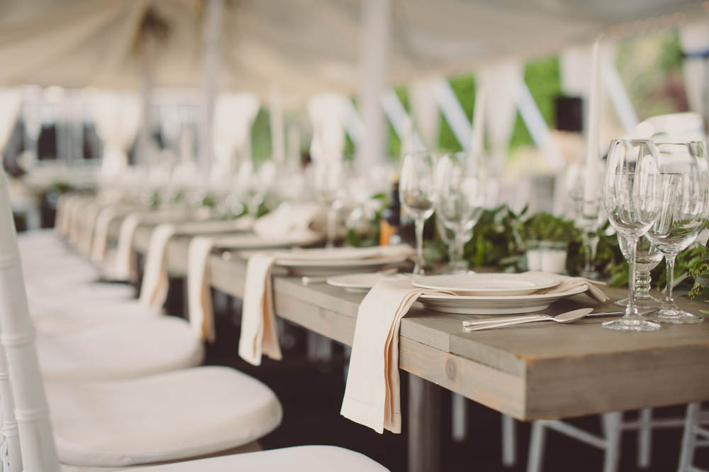 elegant dockside private residence wedding