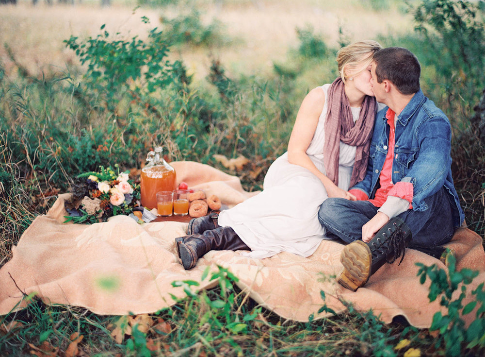 romantic rustic fall shoot