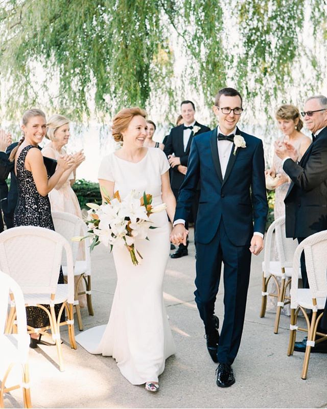 This charming September wedding was featured on @stylemepretty! Liz and David are two of the most intentional people I've been honored to work with. The personal details they incorporated into the day were seamless and the joy was palpable. Can't wait to share more of the reception. Table for 60 please?! @laurenkinsey 😍 #luxurywedding #destinationwedding #harborsprings
