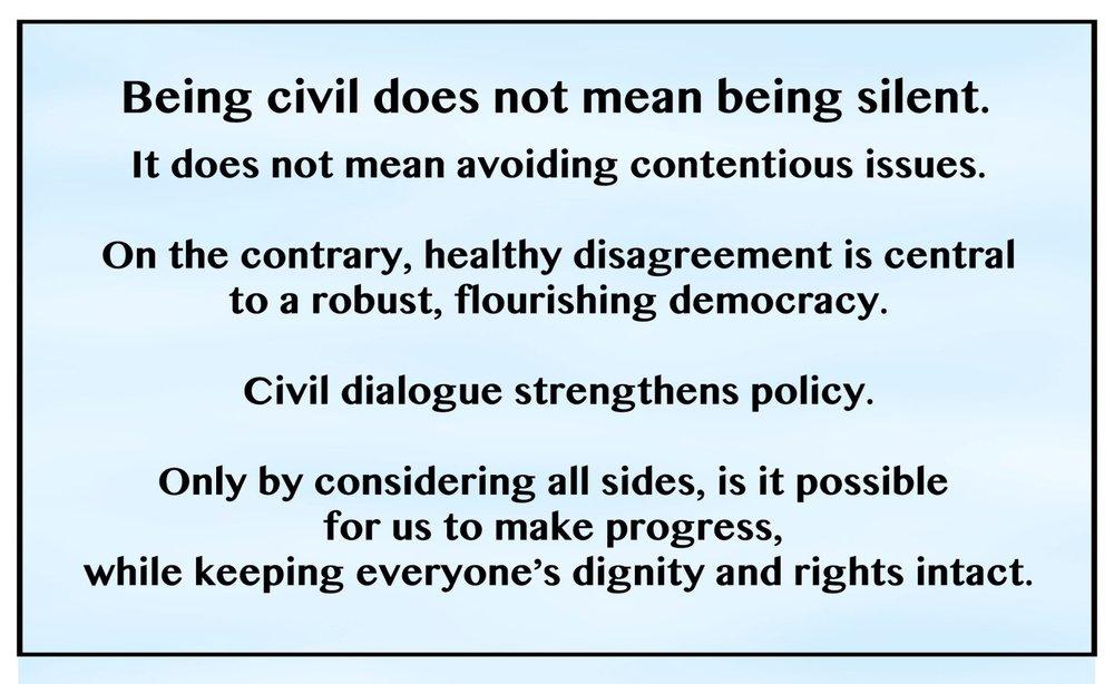 Civility Definition: Tools for Tough Conversations