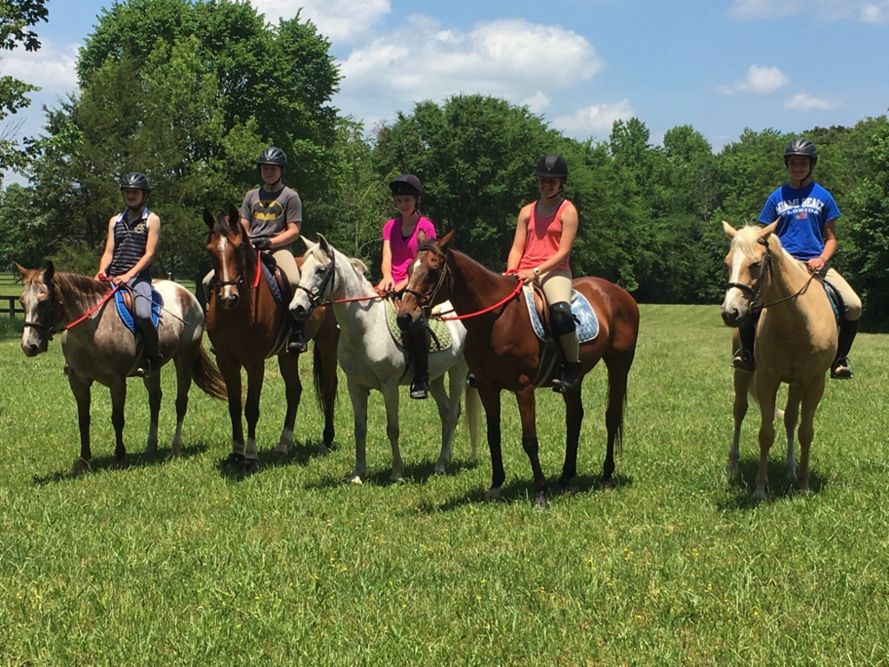 Many of the members enjoyed a fun afternoon trail ride on May 29, 2016.