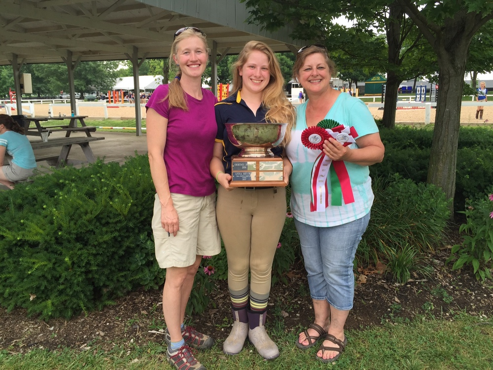 Gretchen was awarded the Sue Lockhart Memorial perpetual award for the highest score by a participant at the D-level of certification!!!!