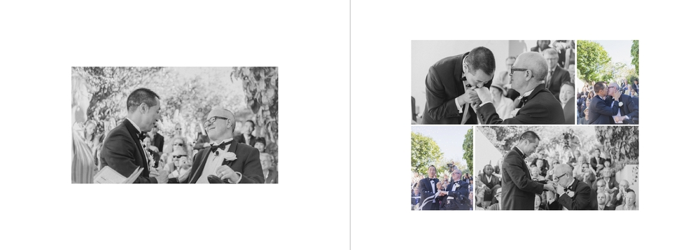 Wedding album layout design by Jenny Siaosi, wellington wedding photographer.