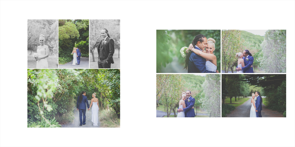 Relaxed and fun-loving bride and groom, location photos at Wharekauhau in the Wairarapa.