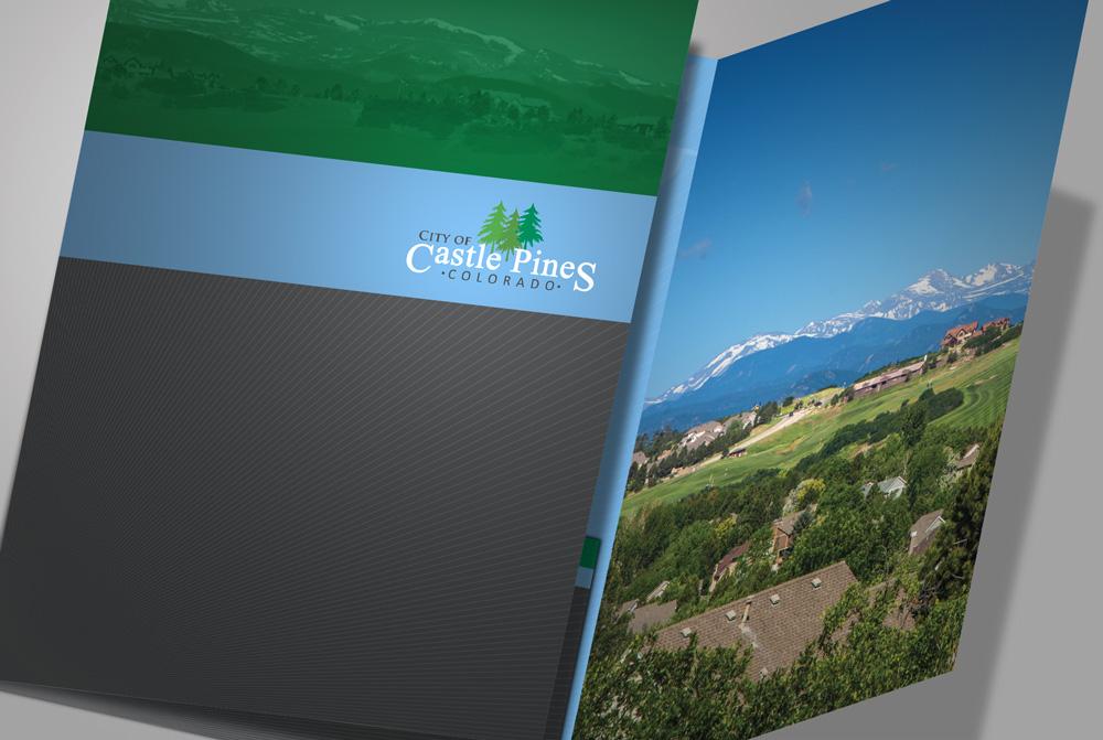 Tri-Fold Pocket Folder