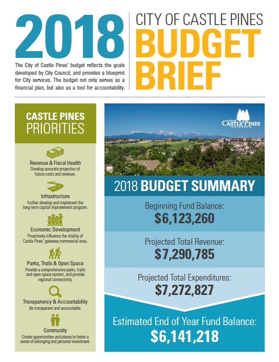 Castle Pine Budget Brief