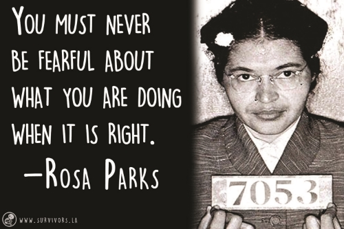 4 Things You Can Take From Rosa Parks Survivors