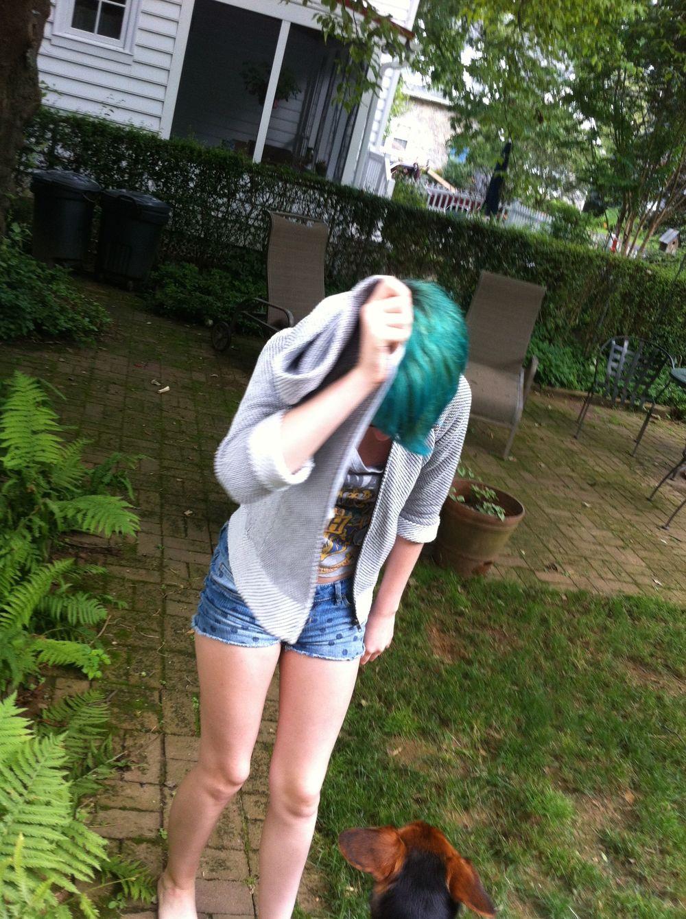 Emily's head