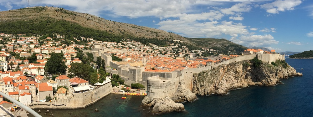 "Dubrovnik, Croatia, the ""Pearl of the Adriatic."""
