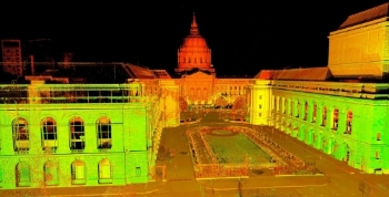 San Francisco City Hall Preservation Point Cloud