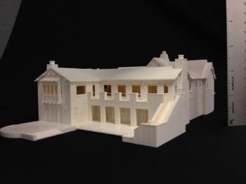 3d Printed Model of House in Orinda, CA