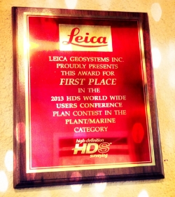 Award for First Place at HxGN LIVE 2013