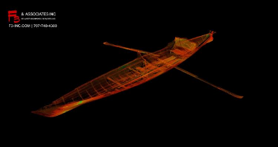 3D Scan of the historic Gig Nana: Data Captured at the Legion of Honor in the SF Bay Area