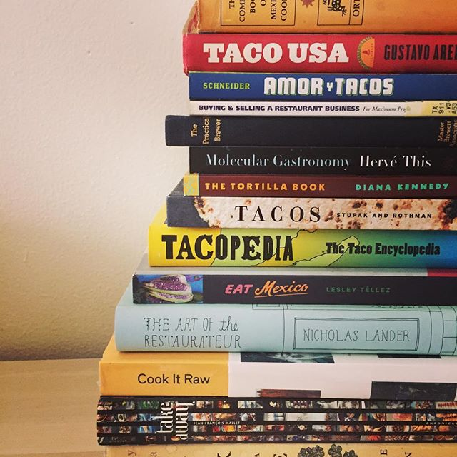 Been offline reading up on u know what. 🌮📚