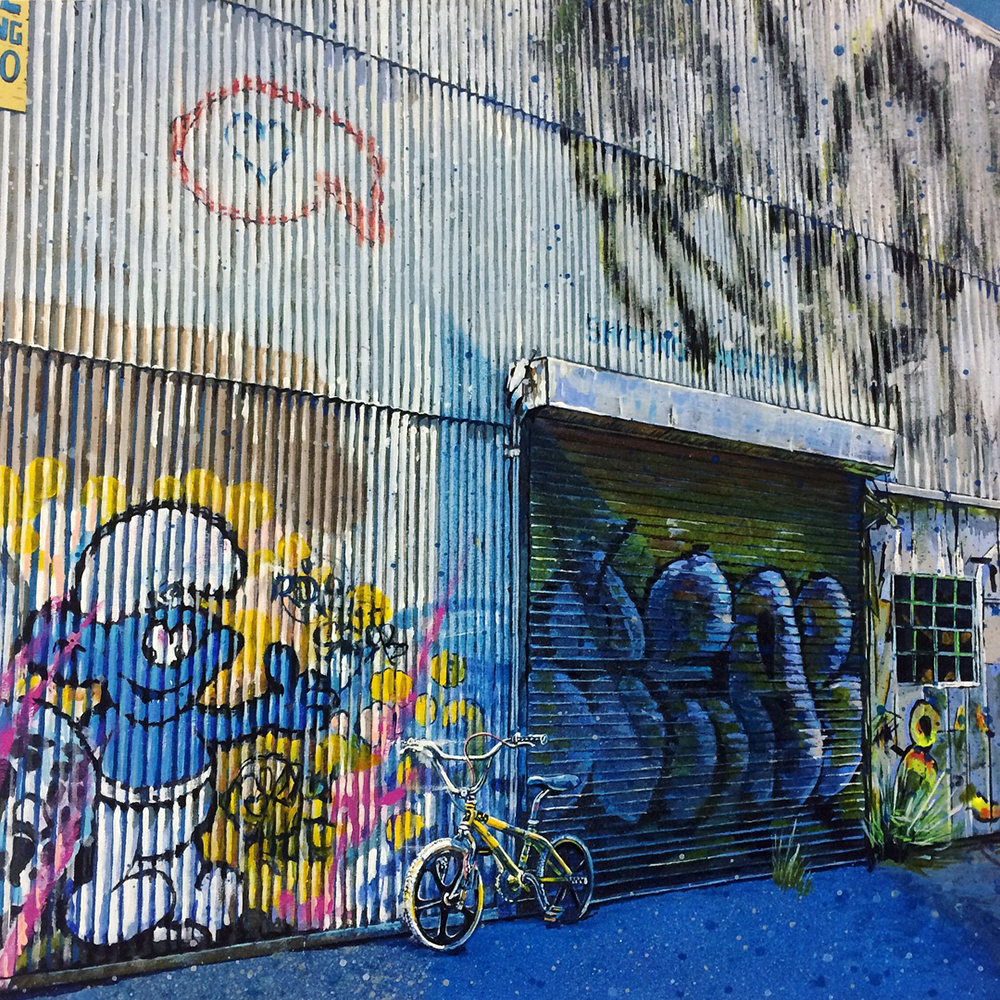 """Smurfcycle"" -Los Angeles"
