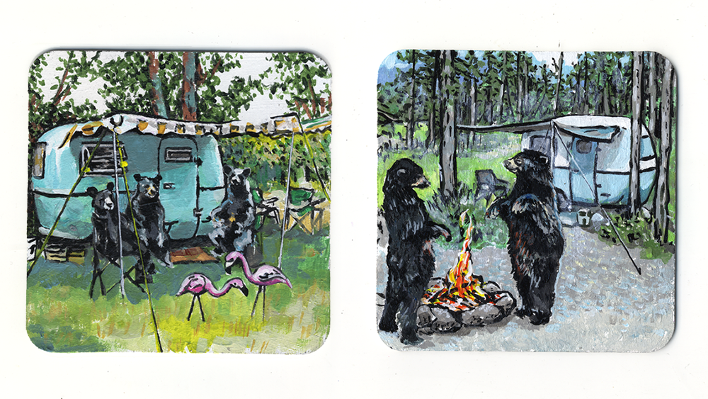 A Crowded Camper & Bear Life in a Boler