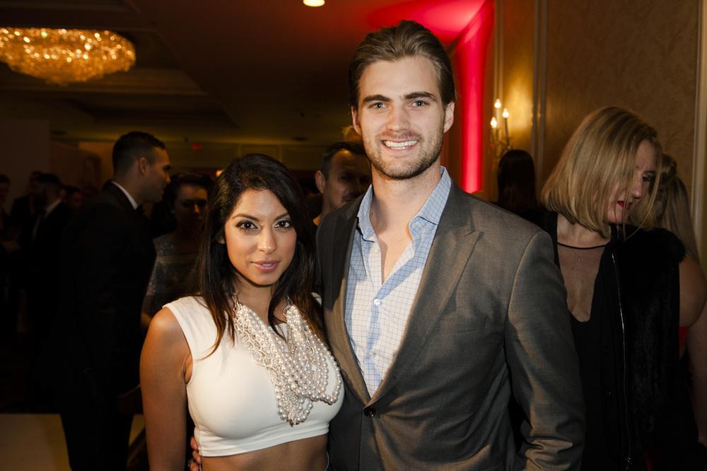 Aliya-Jasmine Sovani & Mike Bradwe