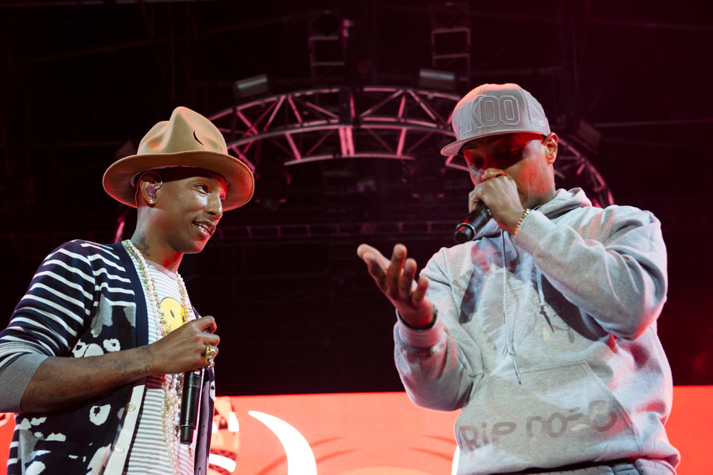 Pharrell Williams & T.I.