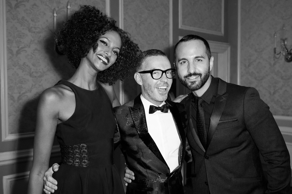 Yasmin, Dean and George at CAFA awards