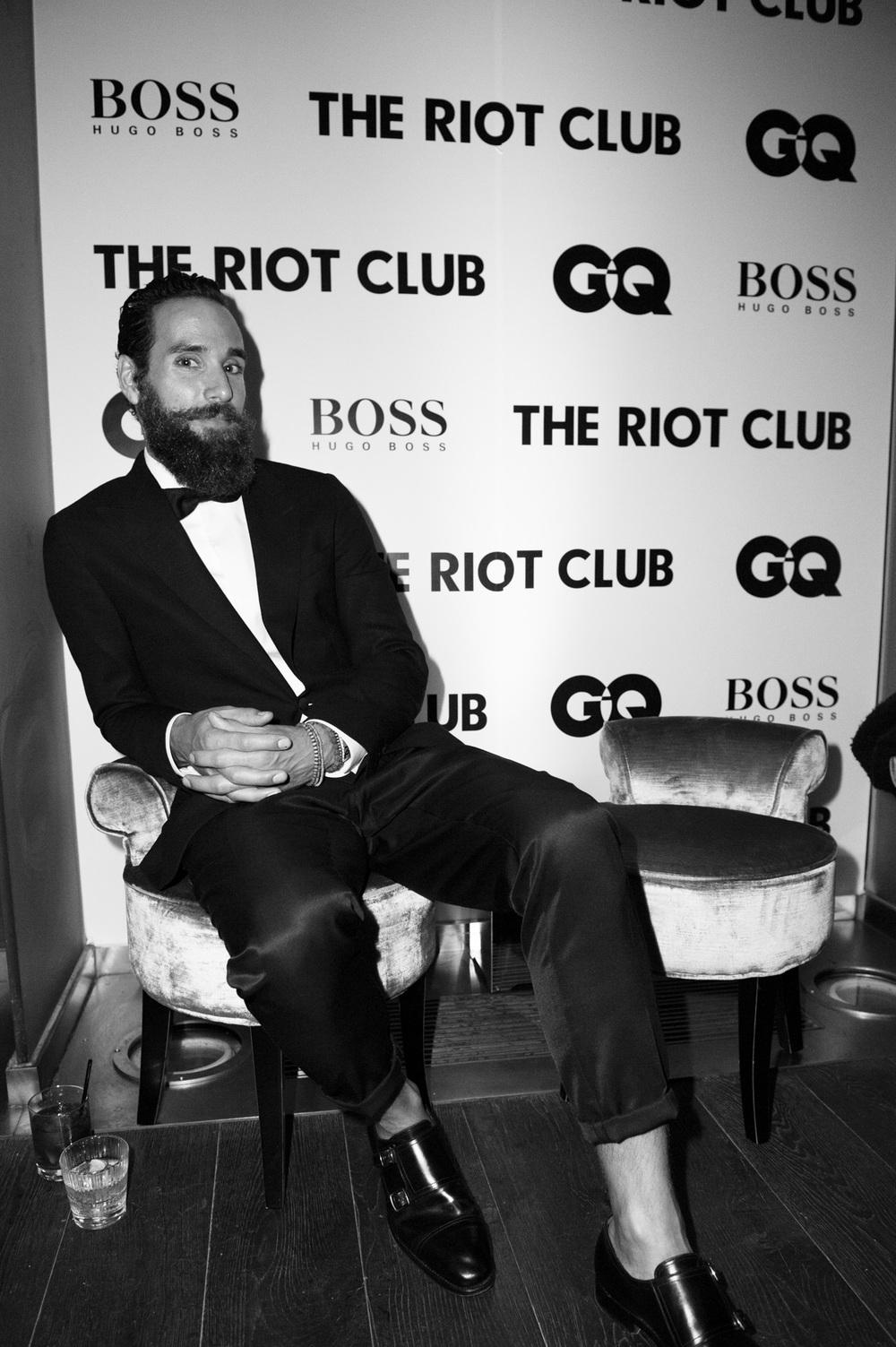 GQ x Hugo Boss event for 'Riot Club'