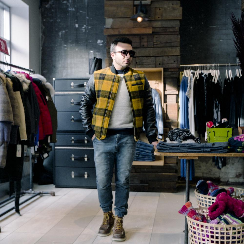 Jacket  Outclass    Jeans   ZARA