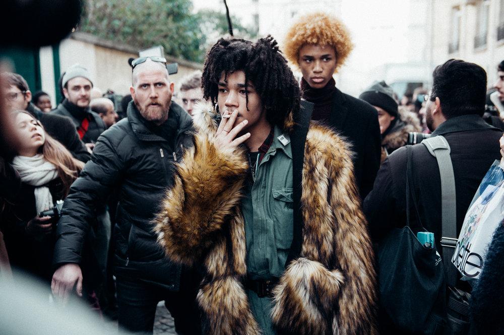 Luka Sabbat -Paris Fashion Week