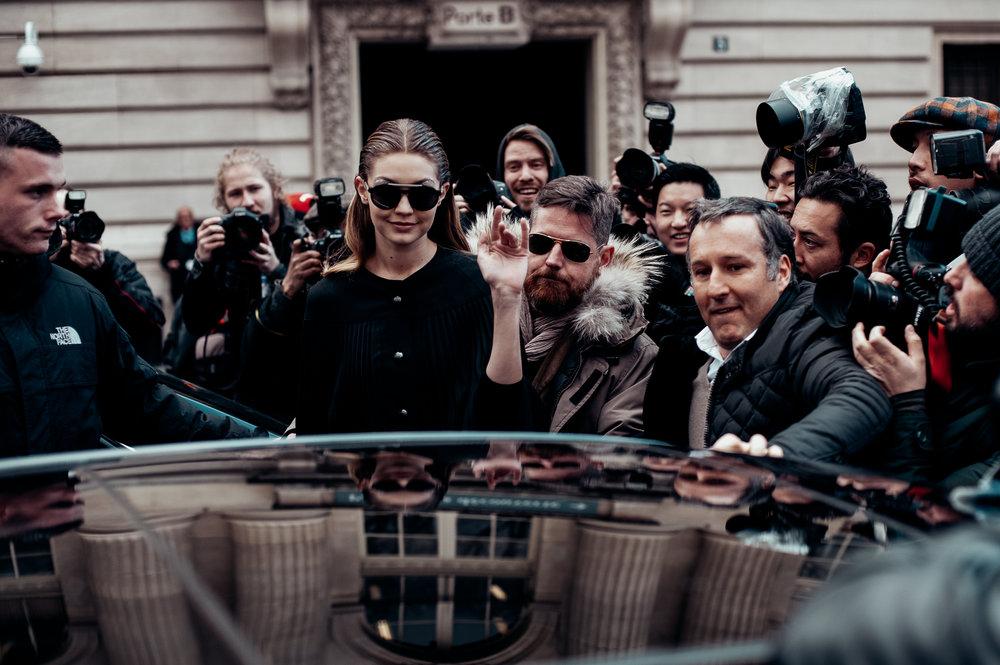 Gigi Hadid -  Paris Fashion Week