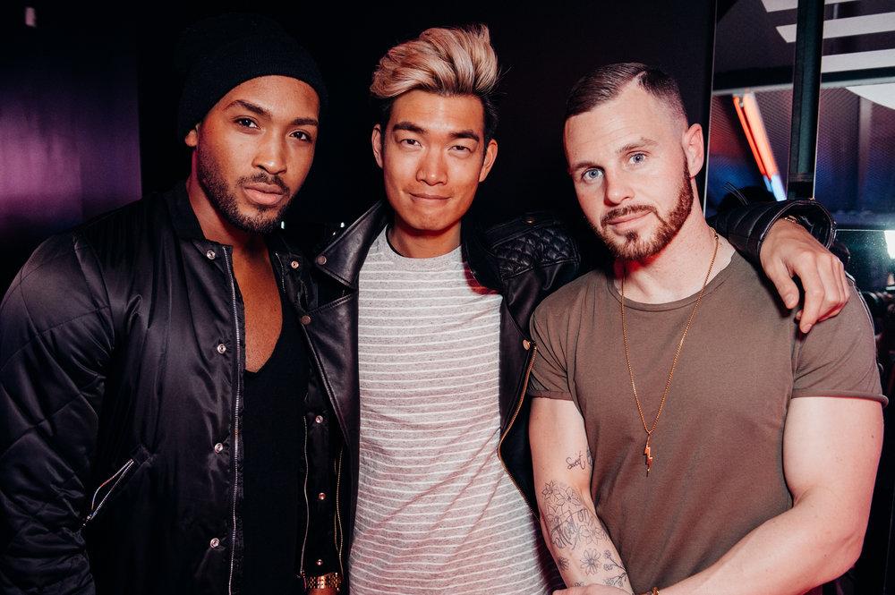 Christian Thompson, Alexander Liang, Daniel Ocean -  Adidas NMD Launch