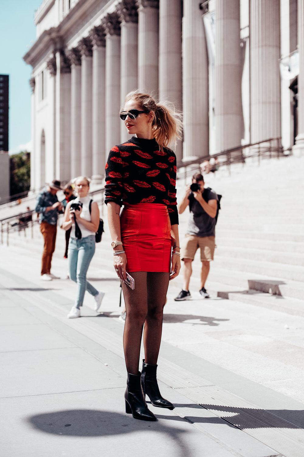 Chiara Ferragni -New York Fashion Week
