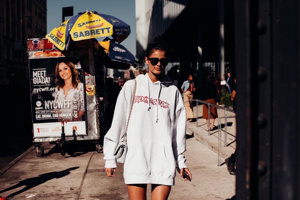 Taylor Hill -New York Fashion Week