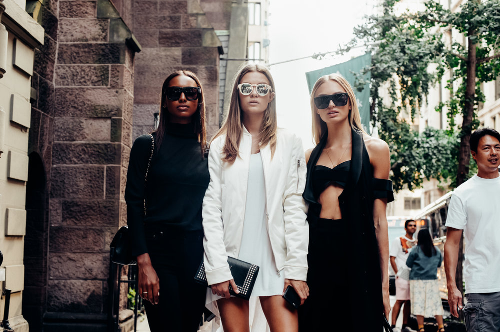 Jasmine Tookes, Josephine Skrivver, Romee Strijd -  New York Fashion Week