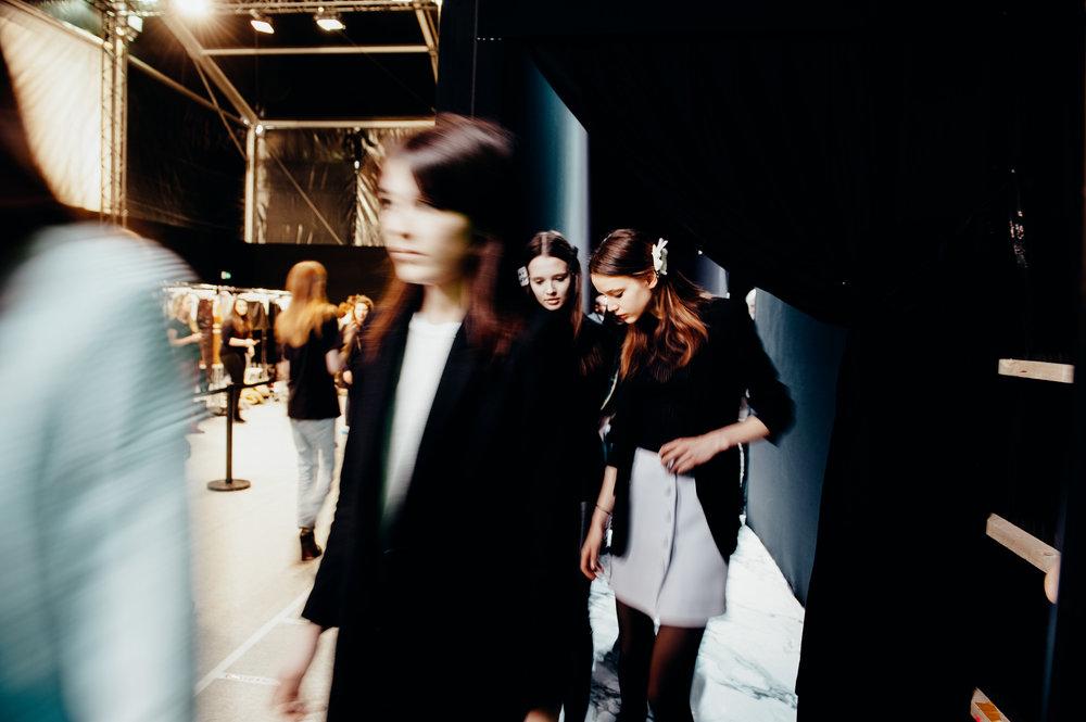 Backstage @CARVEN -  Paris Fashion Week