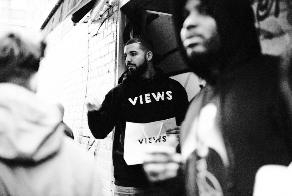 Drake - Views Pop-Up Toronto, April 2016