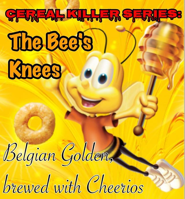 Don't worry, we didn't forget about the May edition of the Cereal Killer Series. #cerealkillerseries #middletonbrewing_wa #drinklocaleverett