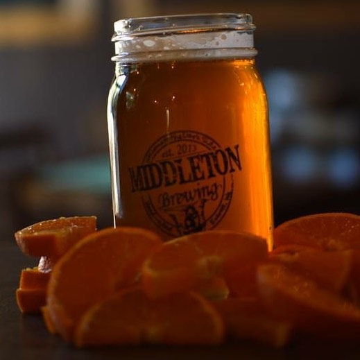 Monkey Butt (tangerine IPA) is on Randall today, being infused with fresh grapefruit. #randalltheenamelanimal #middletonbrewing_wa #drinklocaleverett